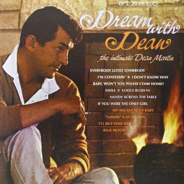 Dean Martin DREAM WITH DEAN Vinyl Record - 180 Gram Pressing