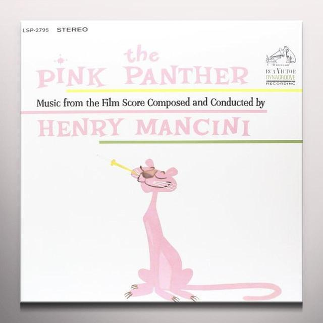 Henry Mancini PINK PANTHER (MUSIC FROM THE FILM SCORE) Vinyl Record - Colored Vinyl