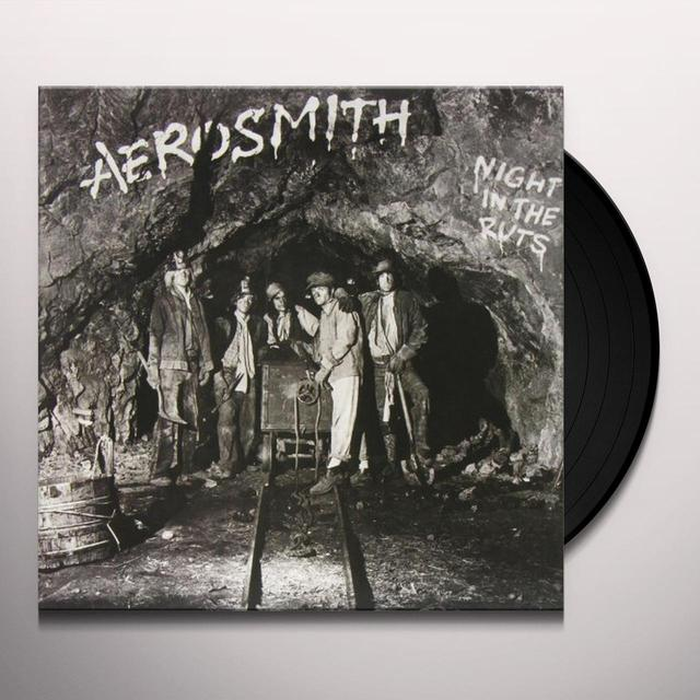 Aerosmith NIGHT IN THE RUTS Vinyl Record - 180 Gram Pressing