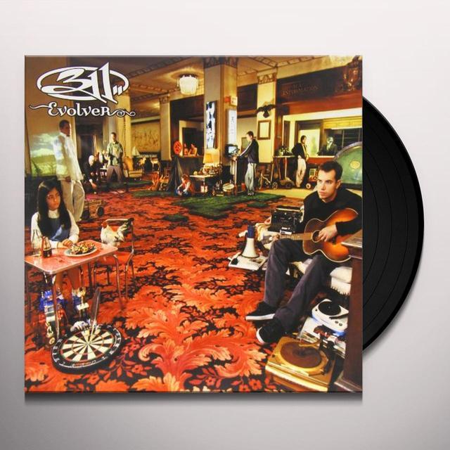 311 EVOLVER Vinyl Record - Gatefold Sleeve, 180 Gram Pressing