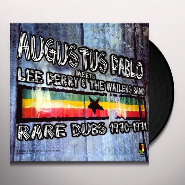 Augustus Pablo MEETS LEE PERRY & THE WAILERS BAND - RARE DUBS Vinyl Record