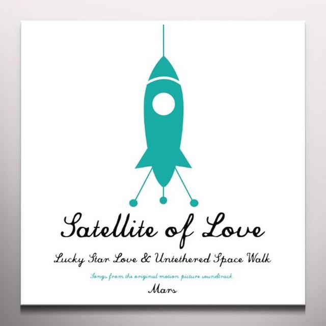 Neko Case / Jason Lytle SATELLITE OF LOVE Vinyl Record - Colored Vinyl, Limited Edition
