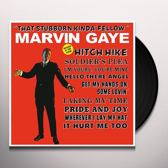 Marvin Gaye THAT STUBBORN KINDA' FELLOW Vinyl Record