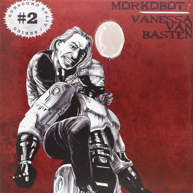 Morkobot/Vanessa Van Basten SUBSOUND SPLIT SERIES 2 Vinyl Record