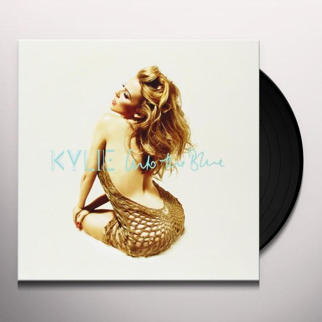 Kylie Minogue INTO THE BLUE (BLUE VINYL) Vinyl Record - Australia Import