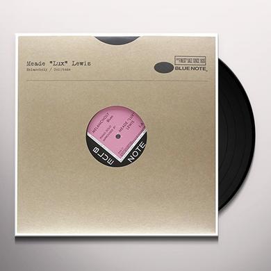 "Meade ""Lux"" Lewis MELANCHOLY Vinyl Record"