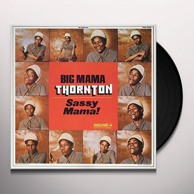 Big Mama Thornton SASSY MAMA Vinyl Record