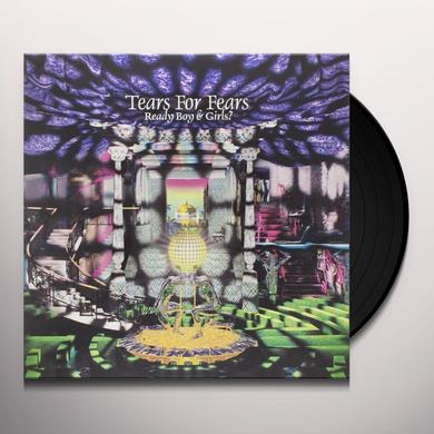 Tears For Fears READY BOYS & GIRLS Vinyl Record - 10 Inch Single