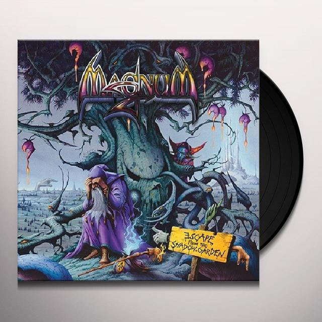 Magnum ESCAPE FROM THE SHADOW GARDEN Vinyl Record - w/CD