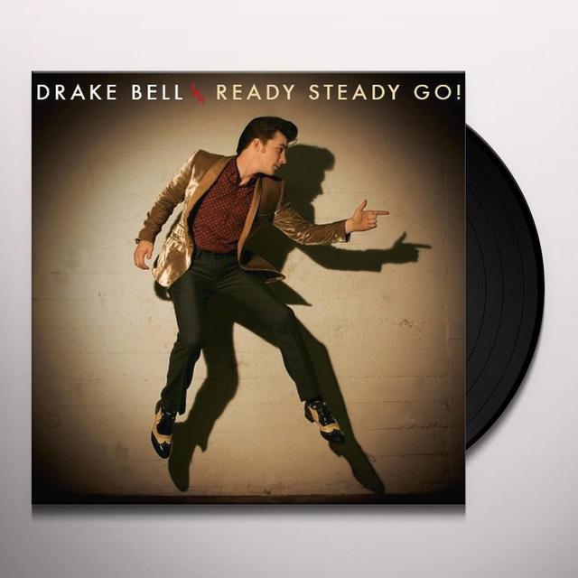 Drake Bell READY STEADY GO Vinyl Record