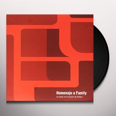 HOMENAJE A FAMILY: SOPLO CORAZON ELEFANT 25TH / VA Vinyl Record