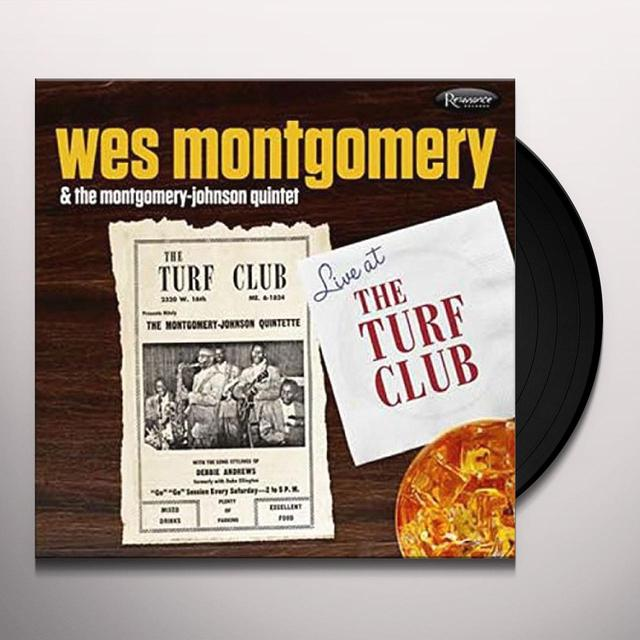 Wes Montgomery & The Montgomery-Johnson Quintet LIVE AT THE TURF CLUB Vinyl Record