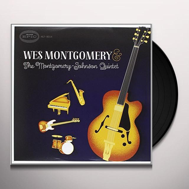 WES MONTGOMERY & THE MONTGOMERY-JOHNSON QUINTET Vinyl Record