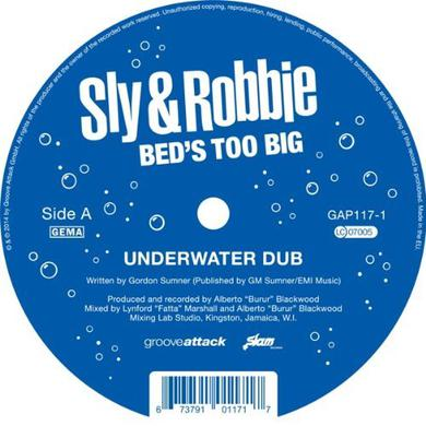 Sly & Robbie BED'S TOO BIG Vinyl Record