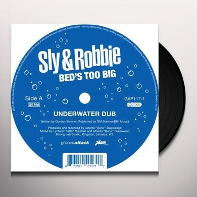 Sly & Robbie BED'S TOO BIG Vinyl Record - 10 Inch Single