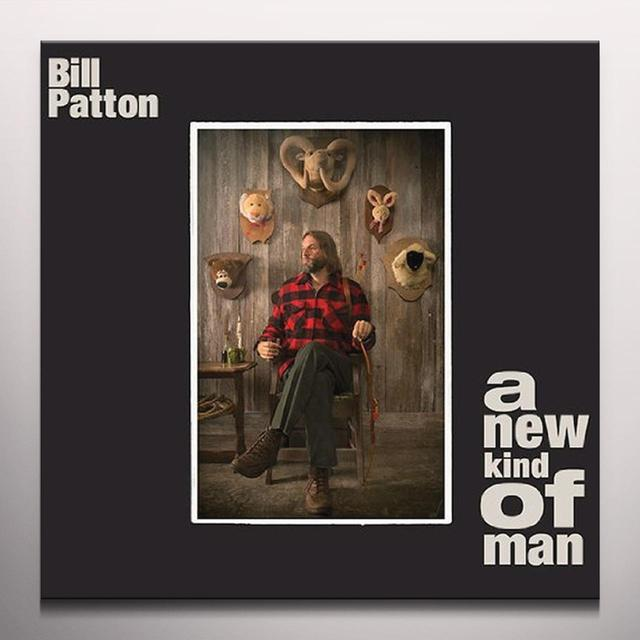 Bill Patton A NEW KIND OF MAN Vinyl Record