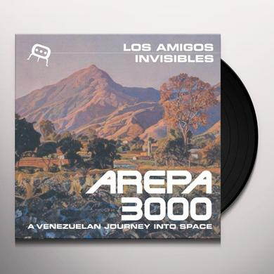 Los Amigos Invisibles AREPA 3000: A VENEZUELAN JOURNEY INTO SPACE Vinyl Record
