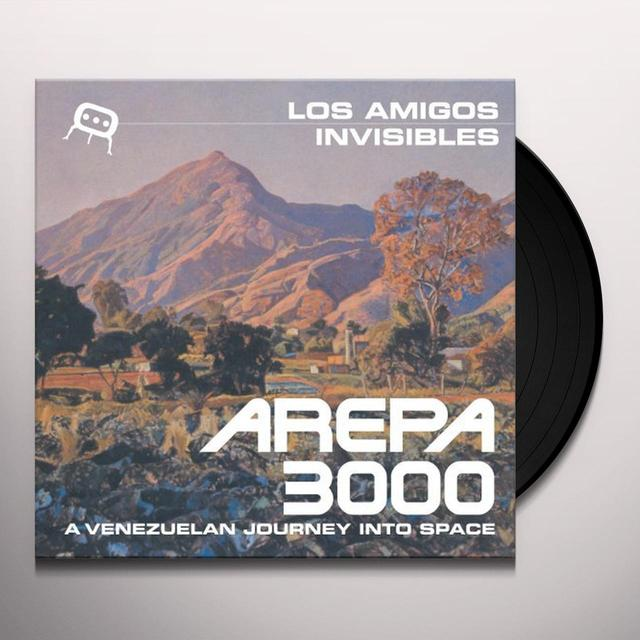 Los Amigos Invisibles AREPA 3000: A VENEZUELAN JOURNEY INTO SPACE Vinyl Record - Gatefold Sleeve