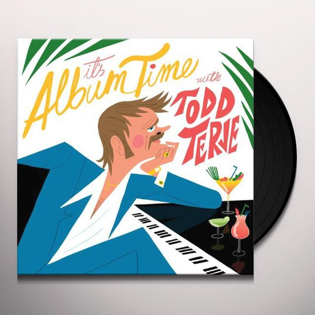 Todd Terje IT'S ALBUM TIME Vinyl Record