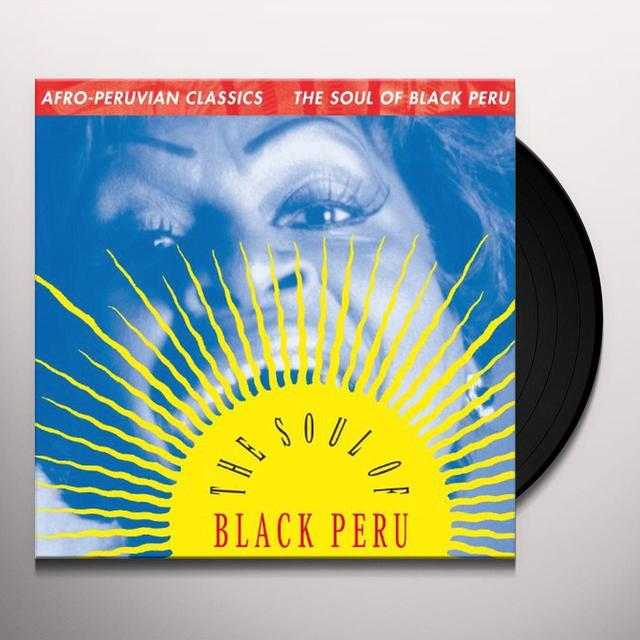 AFRO-PERUVIAN CLASSICS: THE SOUL OF BLACK PERU / V Vinyl Record