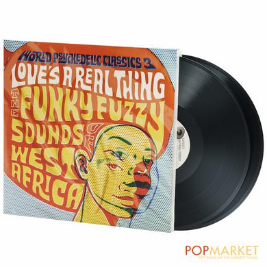 WORLD PSYCHEDELIC CLASSICS 3: LOVE'S A REAL THING Vinyl Record