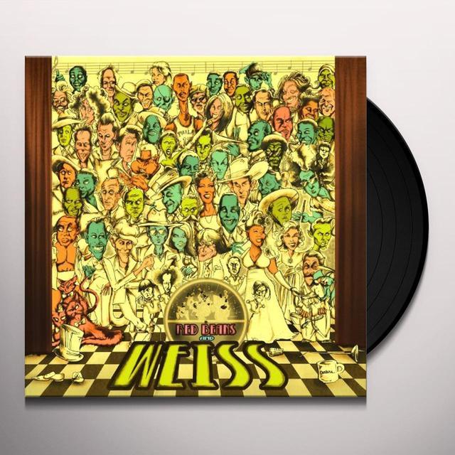 Chuck E Weiss RED BEANS & WEISS Vinyl Record