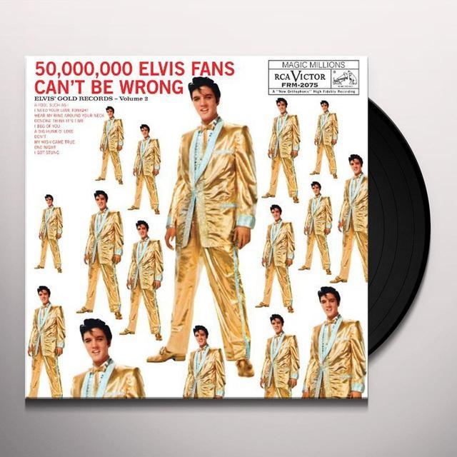 Elvis Presley GOLD RECORDS VOLUME 2 Vinyl Record