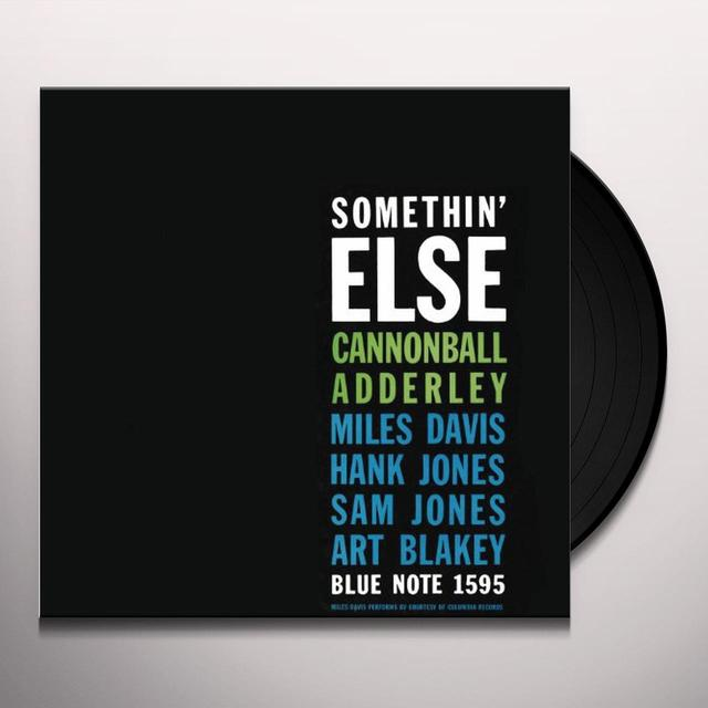 Cannonball Adderley SOMETHIN ELSE Vinyl Record