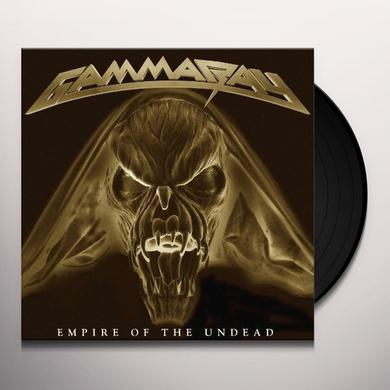 Gamma Ray EMPIRE OF THE UNDEAD Vinyl Record - Gatefold Sleeve