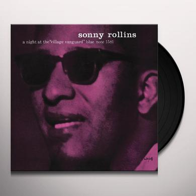 Sonny Rollins NIGHT AT THE VILLAGE VANGUARD Vinyl Record