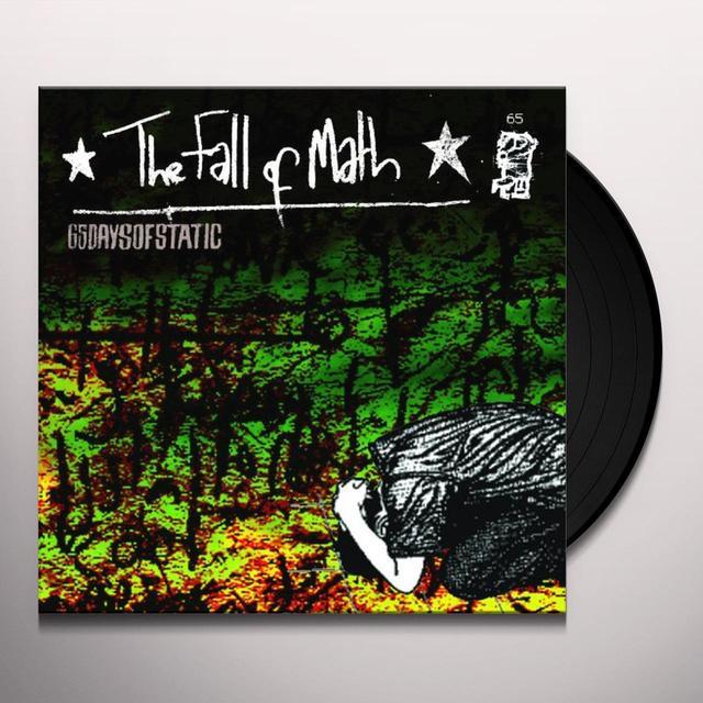 65Daysofstatic FALL OF MATH Vinyl Record