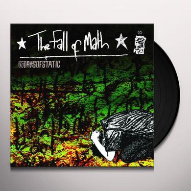 65Daysofstatic FALL OF MATH (BONUS CD) Vinyl Record - Deluxe Edition, Poster