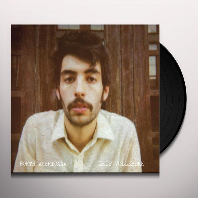 Leif Vollebekk NORTH AMERICANA Vinyl Record - Gatefold Sleeve