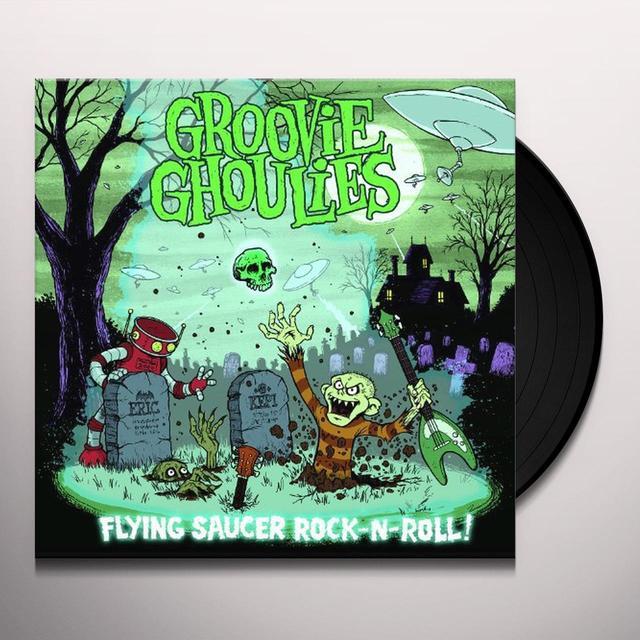 Groovie Ghoulies FLYING SAUCER ROCK N ROLL Vinyl Record - Deluxe Edition