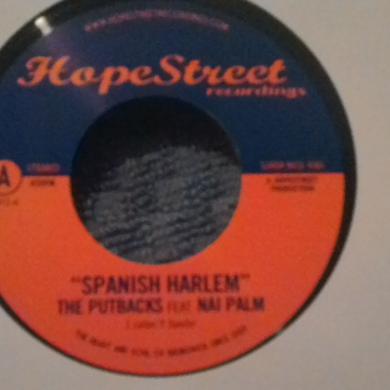 Putbacks SPANISH HARLEM Vinyl Record - UK Release