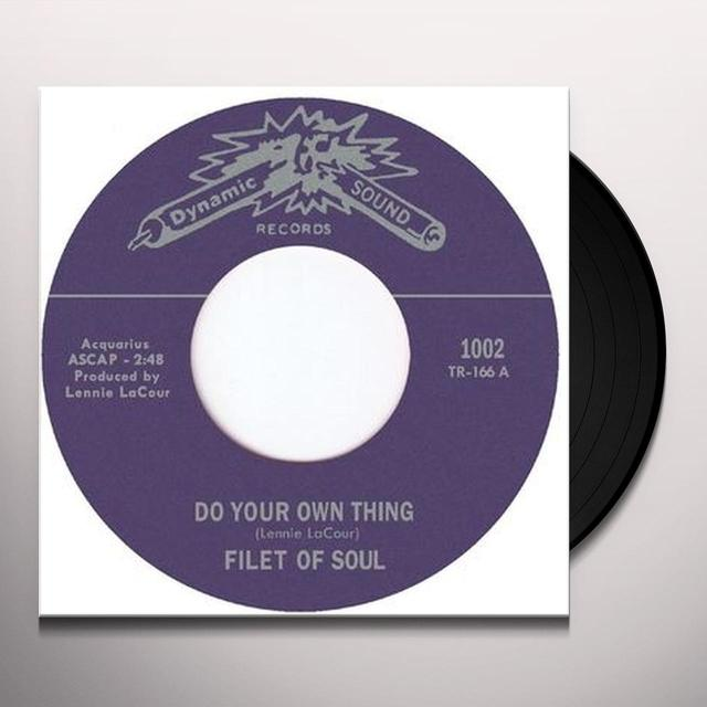 Filet Of Soul DO YOUR OWN THING Vinyl Record - UK Import