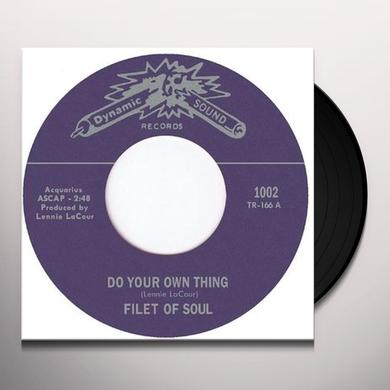 Filet Of Soul DO YOUR OWN THING Vinyl Record