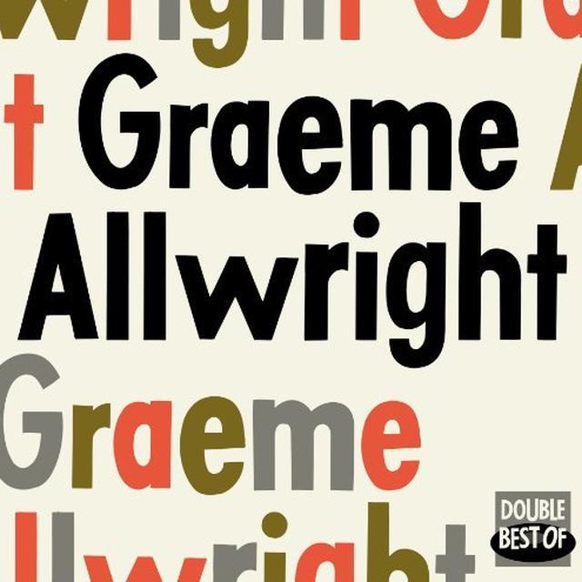 GRAEME ALLWRIGHT (FRA) Vinyl Record