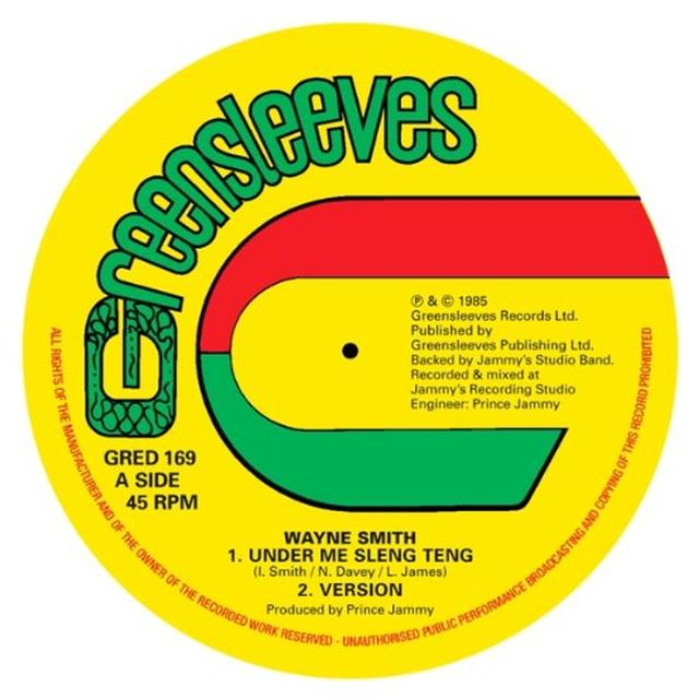 Wayne Smith UNDER MI SLENG TENG Vinyl Record - UK Release