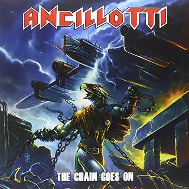 Ancillotti CHAIN GOES ON Vinyl Record