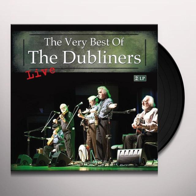 THEVERY BEST OF THE DUBLINERS LIVE Vinyl Record - Holland Import