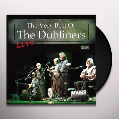 VERY BEST OF THE DUBLINERS LIVE Vinyl Record