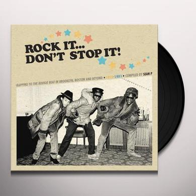 ROCK IT DON'T STOP IT-COMPILED BY SEAN P / VARIOUS Vinyl Record