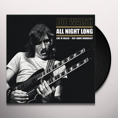 Joe Walsh ALL NIGHT LONG (UK) (Vinyl)