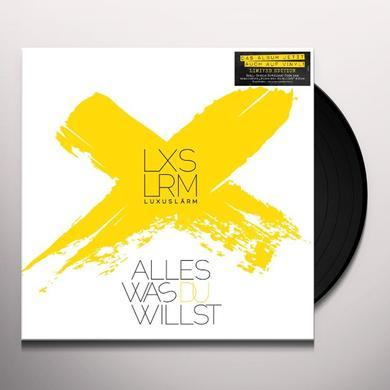 Luxuslaerm ALLES WAS DU WILLST (GER) Vinyl Record