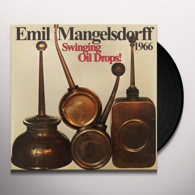 Emil Mangelsdorff SWINGING OIL DROPS (GER) Vinyl Record