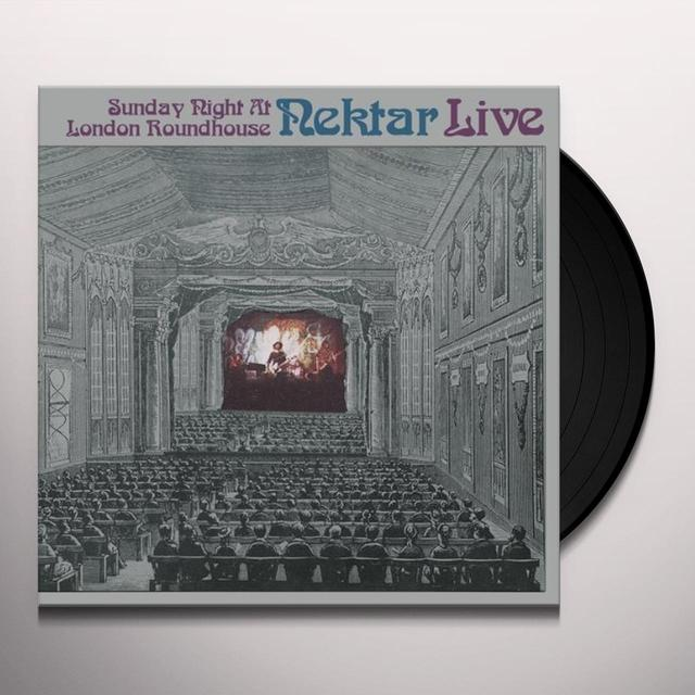 Nektar LIVE-SUNDAY NIGHT AT LONDON (GER) Vinyl Record
