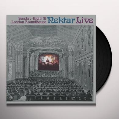 Nektar LIVE-SUNDAY NIGHT AT LONDON Vinyl Record