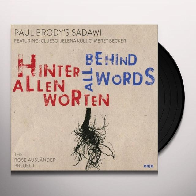Paul Brody HINTER ALLEN WORTEN (GER) Vinyl Record