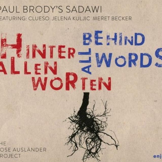 Paul Brody HINTER ALLEN WORTEN (GER) Vinyl Record